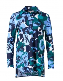 Hadley Blue and Jade Floral Top