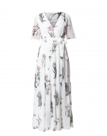 Condesa White Floral Printed Dress