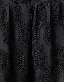 Shoshanna - Talia Black Mosaic Eyelet Dress