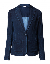 Everyday Indigo Blue Knit Blazer