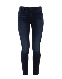 Riche Touch Dark Blue Skinny Ankle Denim Jean