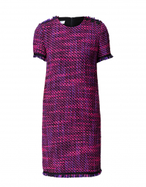 Damini Purple and Pink Tweed Dress