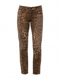 Tess Leopard Print Super Stretch Denim Jean