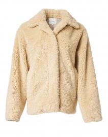 Tan Faux Fur Teddy Coat