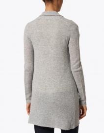 White + Warren - Heather Grey Essential Cashmere Cardigan