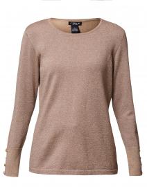 Metallic Gold Sweater