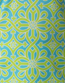 Gretchen Scott - Turquoise and Lime Printed Tunic