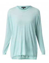 Turquoise Sustainable Cashmere Sweater
