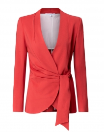 Lavia Red Blazer Jacket