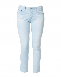 Prima Crop Light Blue Cigarette Jean