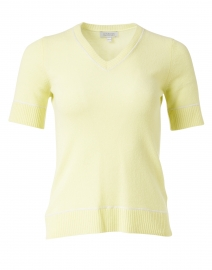 Citrus Lime Cashmere Knit Top