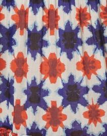Banjanan - Brenda Blue and Orange Shibori Cotton Voile Dress