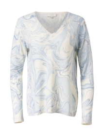 Blue Marble Cashmere Sweater