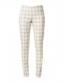 Jezebelle Beige Charleston Plaid Pant