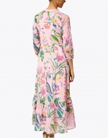 Banjanan - Bazaar Light Pink Floral Cotton Voile Dress