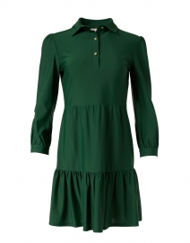 Henley Kelly Green Shirt Dress