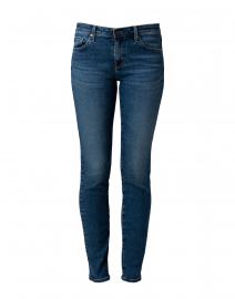 Prima Blue Denim Cigarette Leg Jean