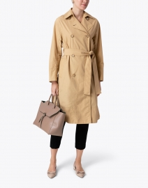Vince - Tech Faille Trench Coat