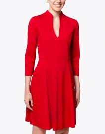 Jude Connally - Kennedy Red Ponte Dress