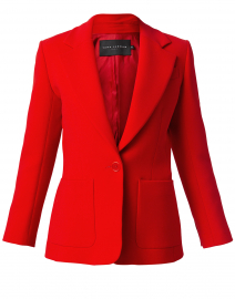 Valia Red Blazer