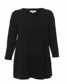Cortland Park - Saint Tropez Black Cashmere Swing Sweater