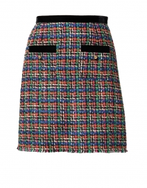 Lucy Multi Tweed and Black Trim Skirt