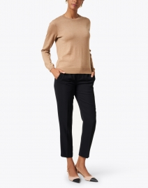 A.P.C. - Camel Merino Knit Top