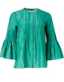 Alea Field Green Cotton and Silk Blouse