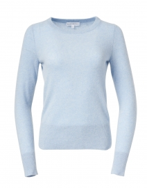Pure Blue Cashmere Essential Sweater