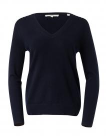 Weekend Navy Cashmere Sweater