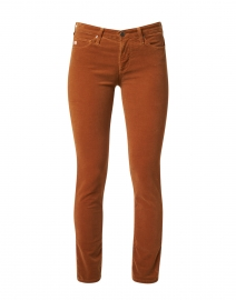 Prima Brown Stretch Corduroy Slim Jean