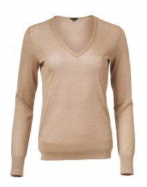 Champagne Knit Lurex Top