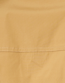 Veronica Beard - Bab Khaki Beige Stretch Cotton Shirt