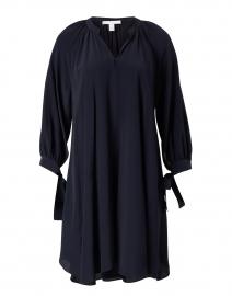 Difloru Navy Silk Dress