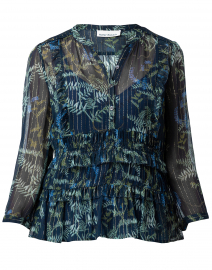 Ulletta Navy Fairytale Garden Top