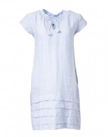 Blue Stripe Cotton Dress