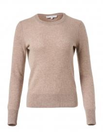 Oak Heather Essential Cashmere Sweater