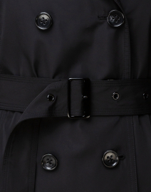 Jane Post - Black Zip-Out Liner Trench Coat