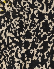 Marc Cain - Yellow and Black Animal Print Cardigan