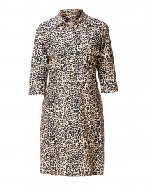 Sloane Mini Leopard Henley Dress