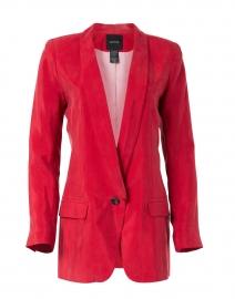 Smythe - Red Cupro Longline Blazer