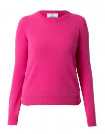 Fuchsia Pink Cashmere Sweater