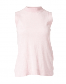 Pale Pink Cotton Linen Top
