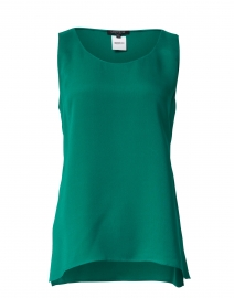 Finley Green Silk Top