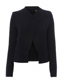 Navy French Terry Jacket