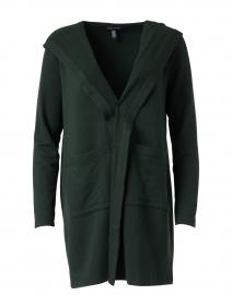Ivy Green Cotton Fleece Jacket