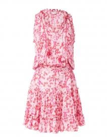 Clara Pink Daffodil Floral Dress
