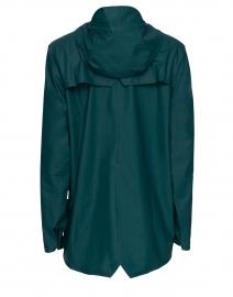 Rains - Dark Teal Short Rain Jacket