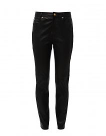 Lenima Black Leather Pant