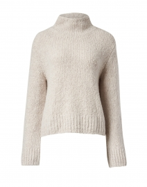 Pearl Textured Wool and Cashmere Sweater
